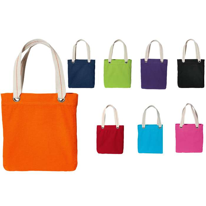 100% Garment Washed Cotton Canvas Tote Bag, Shopping Bag, Canvas Bag
