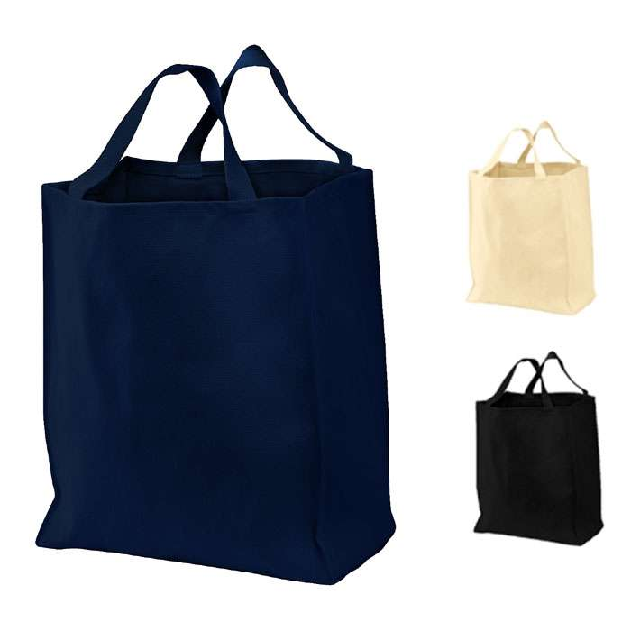 Cotton Twill Grocery Tote Bag, Shopping bag, Handbag