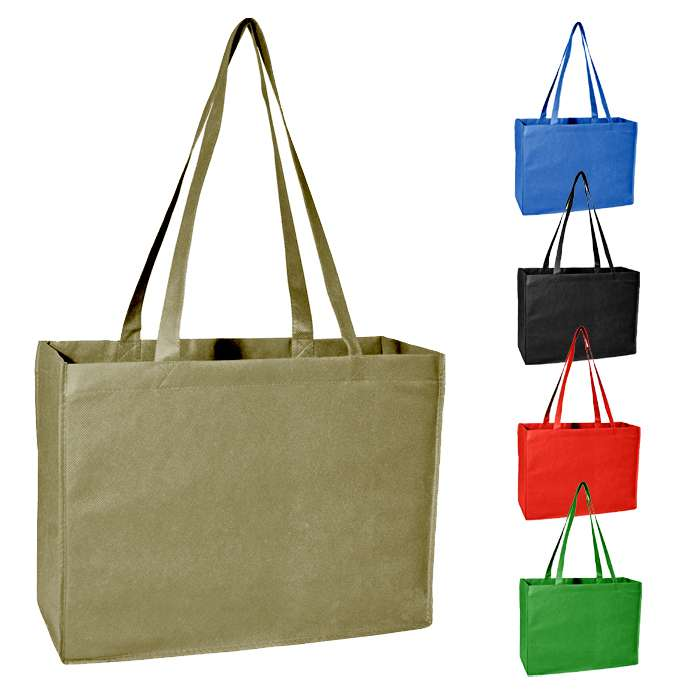 Non Woven Promotional Tote Shoulder Bag, Book Bag
