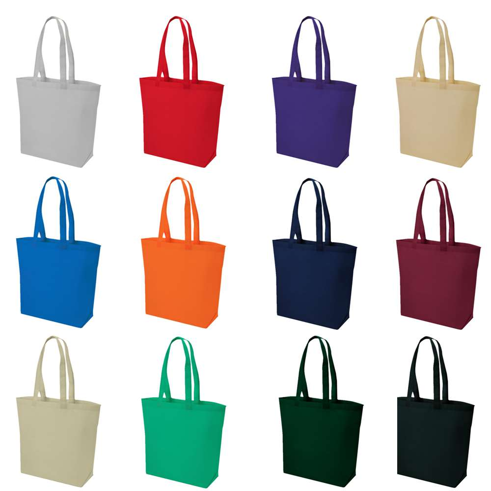 Non-Woven Medium Tote Bag, Grocery Tote Bag, Promotional tote bag
