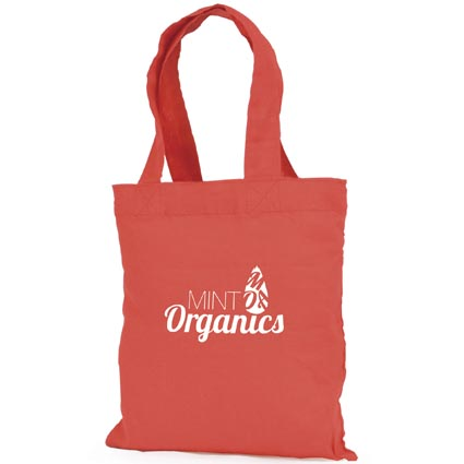 Mini Coloured Cotton Shopper Bags