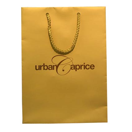 Small Rope Handle Paper Carrier Bag