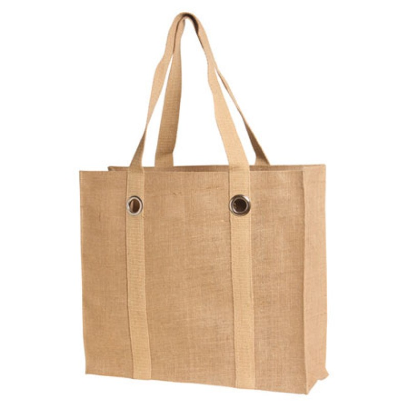 Eco-Friendly Jute/ Burlap Bag with Big Grommets