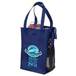 Premium Non-Woven Insulated Snack Bag -Full Color
