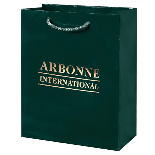 "8"" x 10"" x 4"" Euro-Gloss Shopping Bags"