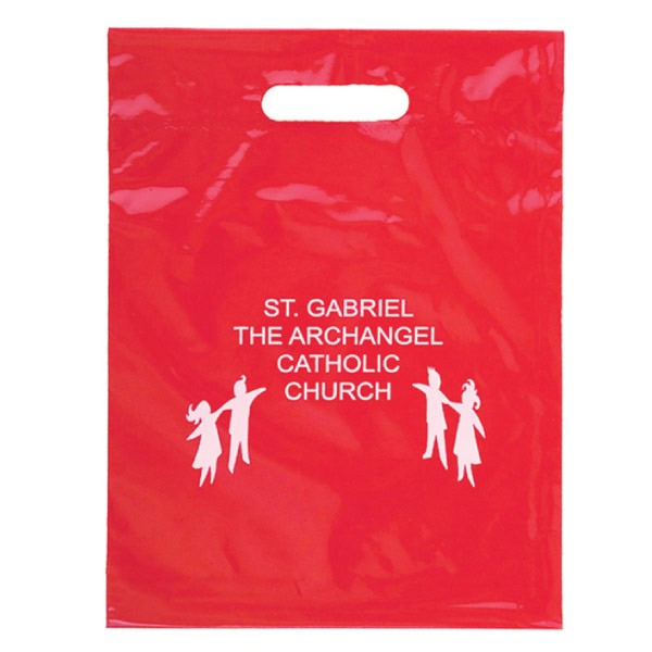 9×13 Die-Cut Handle Shopping Bag