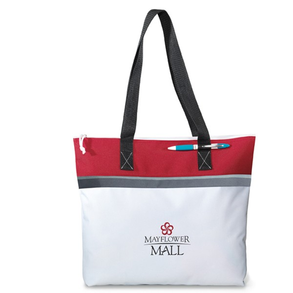 Zippered Harbor Convention Tote – Factory Direct