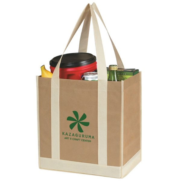 Two-Tone Grocery Bag