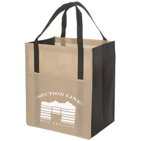 Cheap printed small jute fabric advertising bags