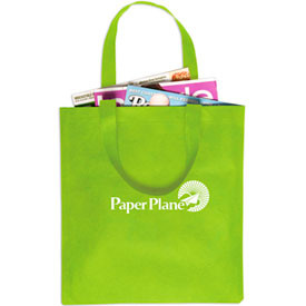 Promotional 190T Polyester Foldable Shopping Bag with Drawstring Pouch