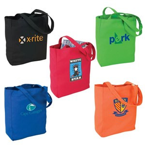Color printed t shirt polyester shopping bag