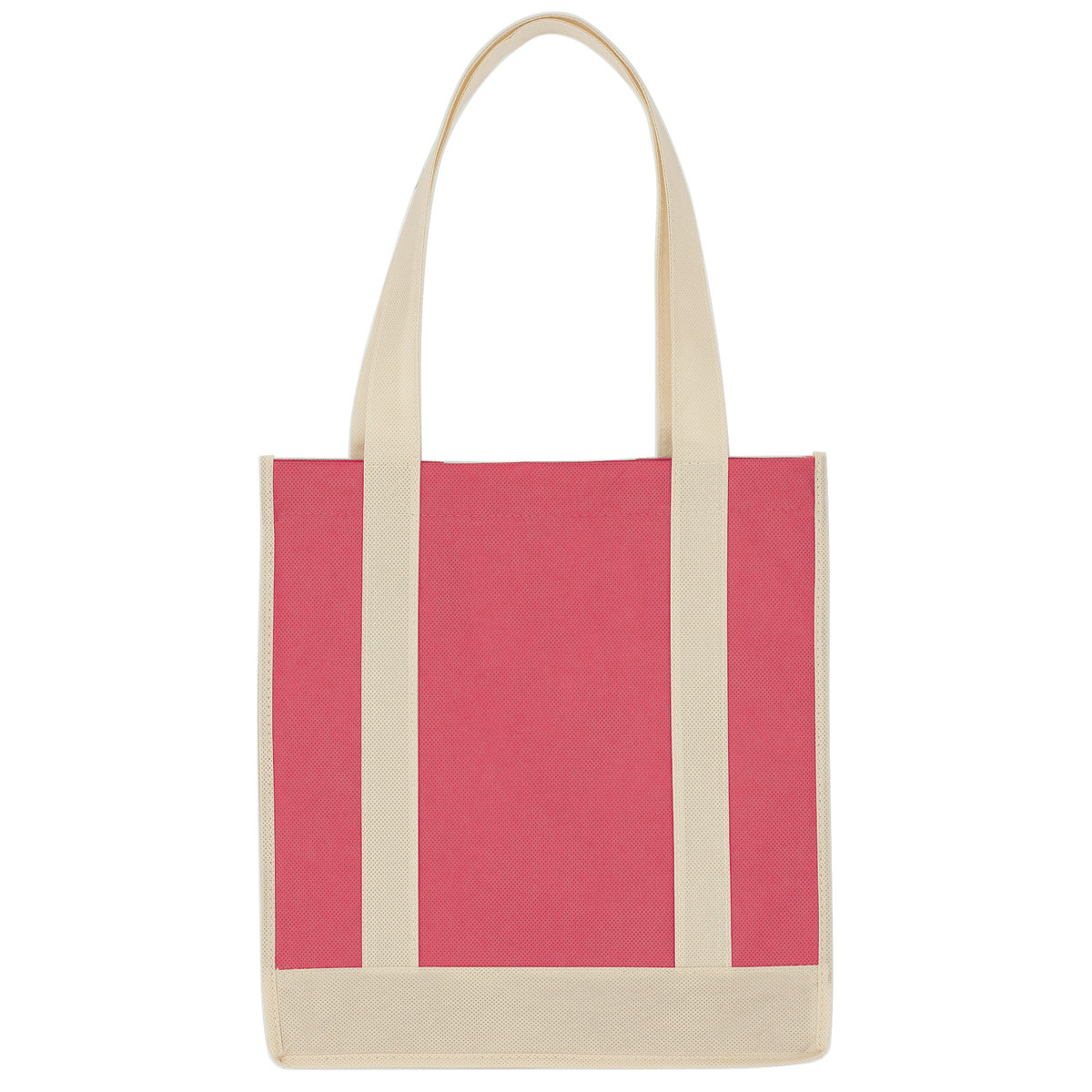 Fashion flower design promotional shopping bag