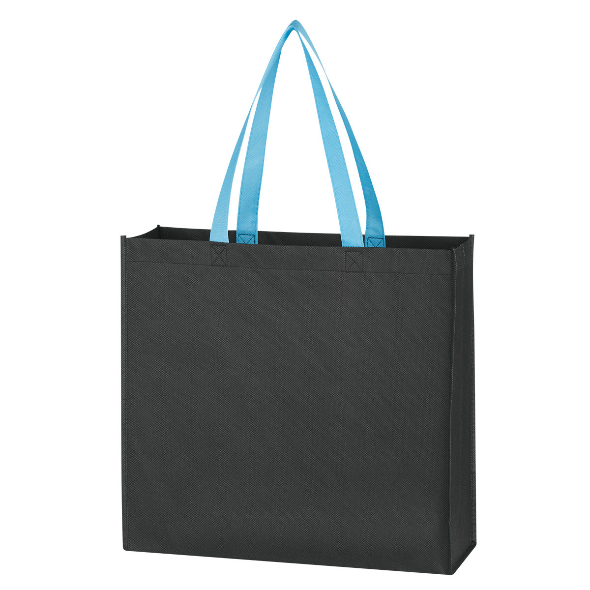 promotional various color grocery tote bag, reusable shopping bag, non woven shopping bag