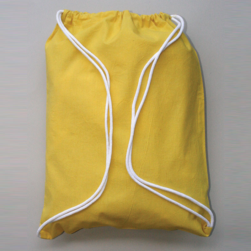 High Quality Promotional 210D420D Polyester Fabric Drawstring Bag