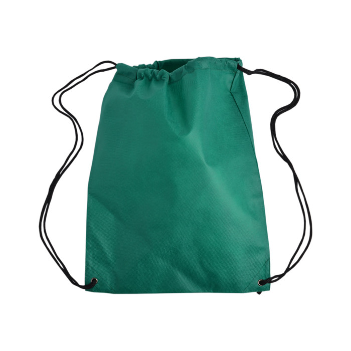 Contemporary promotional foldable microfiber small drawstring bag