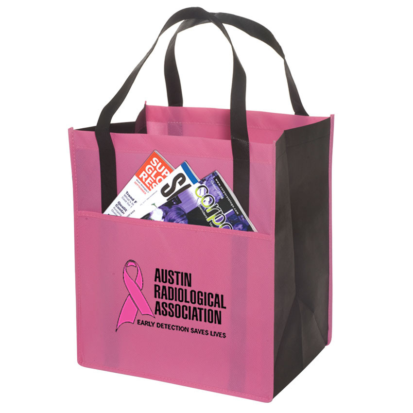 OEM Reusable bag with full color printing