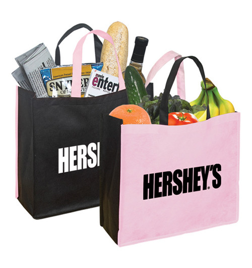 Pretty supermarket pvc promotional bag