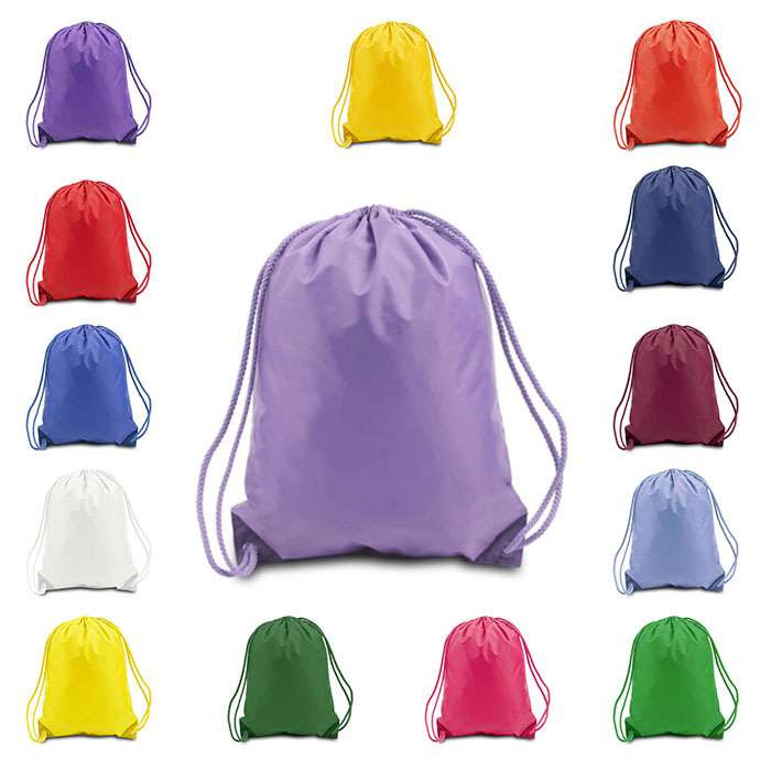 polyester drawstring shoes bag