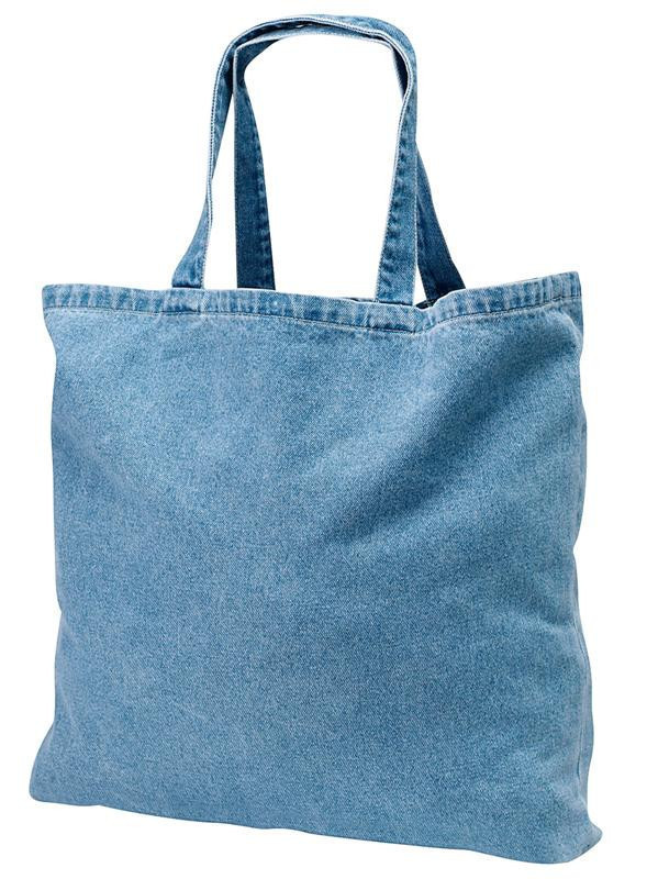 Eco friendly blocked T-shirt bag