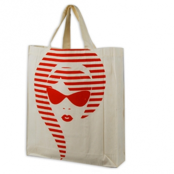 New design jute bag with drawstring
