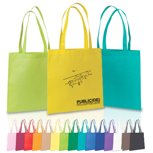 top quality Green color printing bamboo bag