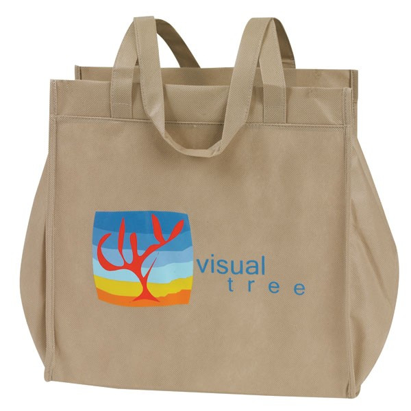 Fashion Design PP Non Woven Shopping Bag, Eco Non Woven Promotional Bag